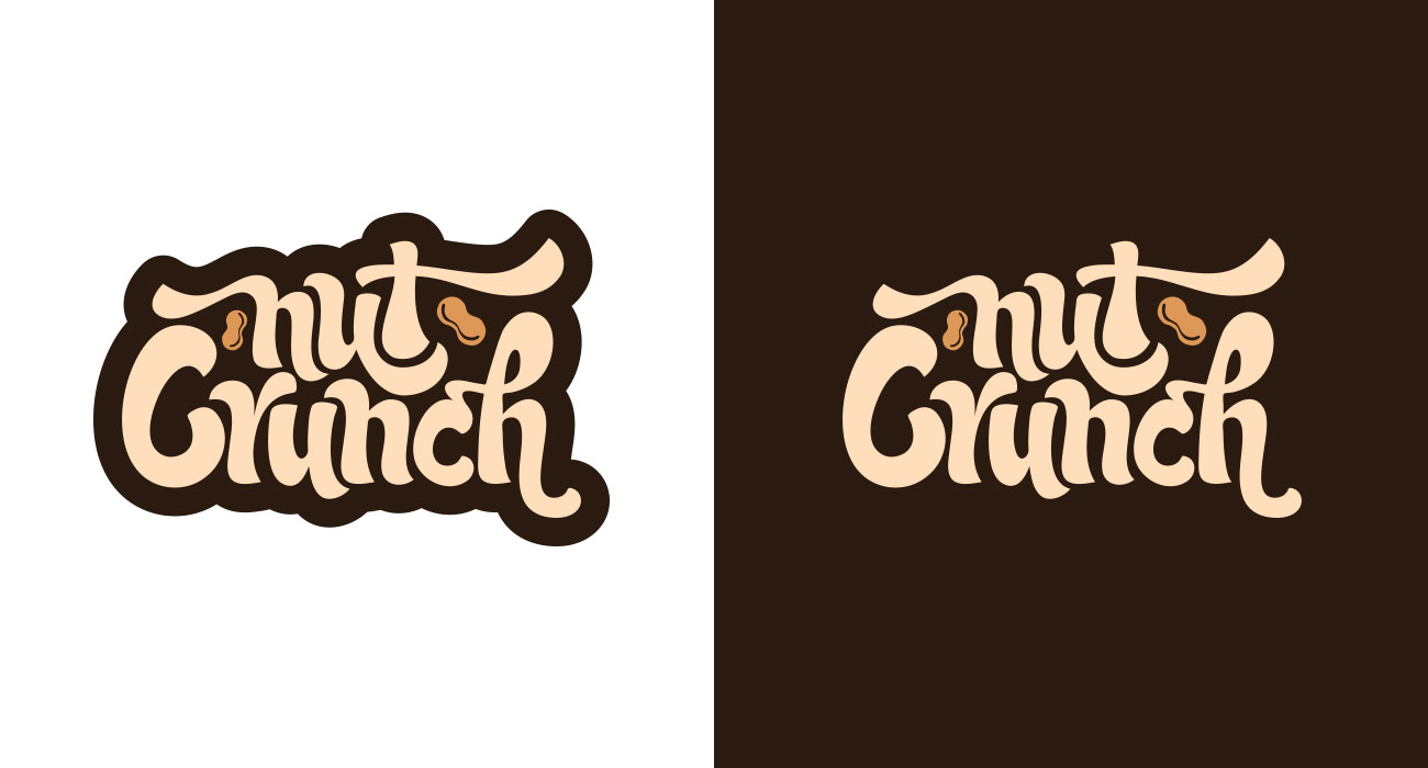 Nut Crunch Logo Alternates