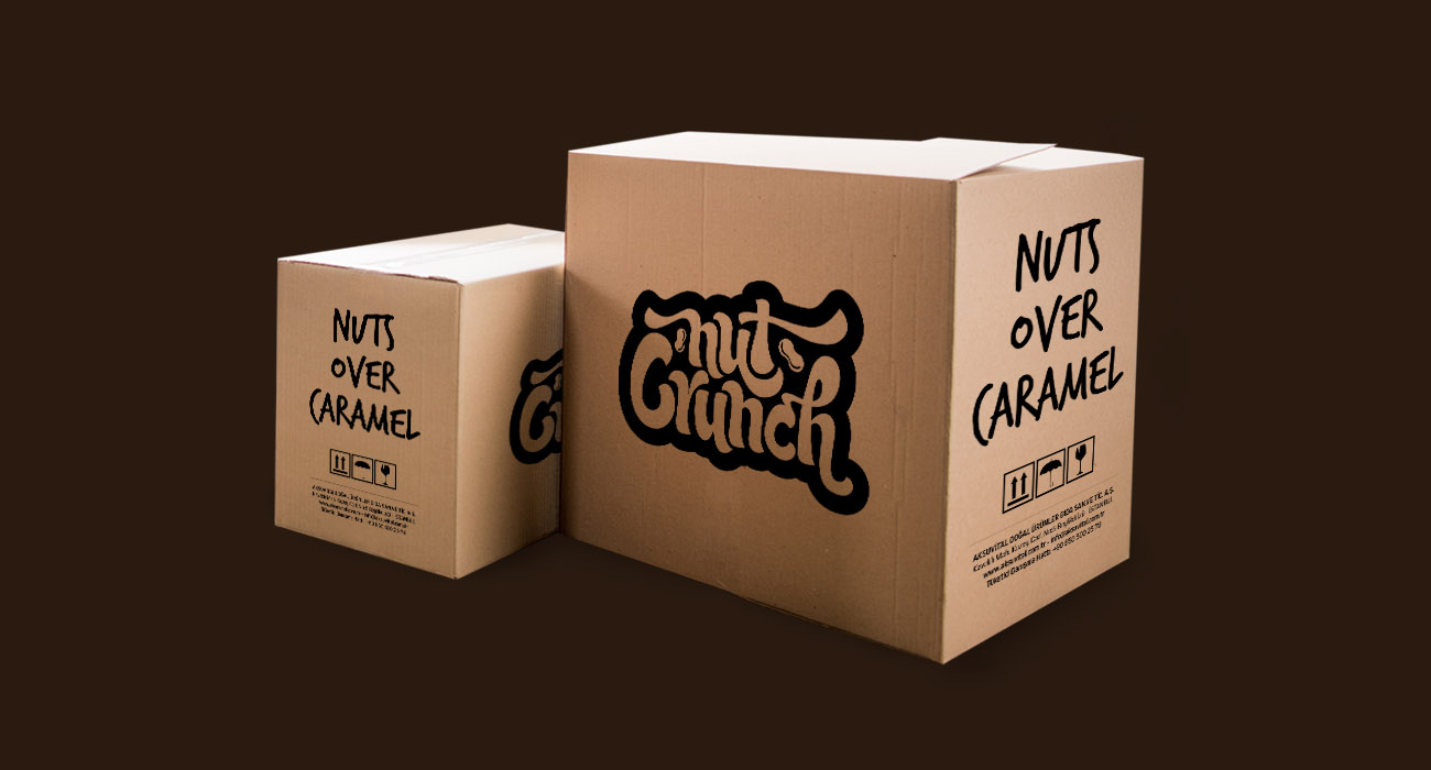 Nut Crunch Packaging Box